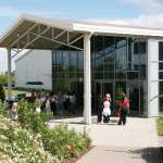 Eingang Messehallen