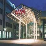 Eingang zum Mitteldeutschen Modecenter MMC