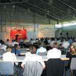 Mitarbeiterschulung in Messe Halle A